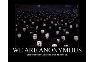 We are sorry, say Anonymous