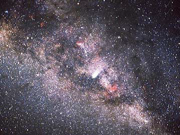 NASA photograph of our Milky Way galaxy