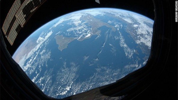 An astronaut's view of Earth